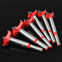 6pcs Drill Bit Set 16 20 22 25 30 35mm For Carpentry Wood Window Hole Cutter