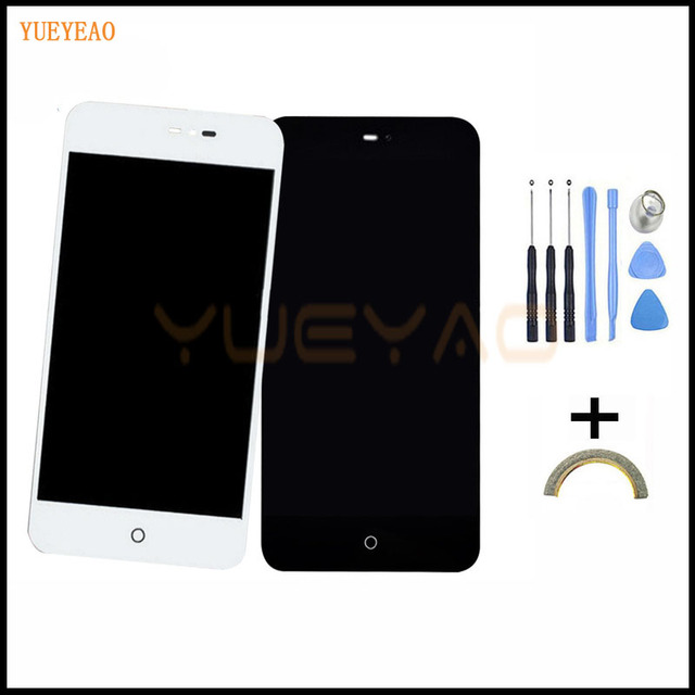 YUEYAO LCD Display+Touch Screen Digitizer Assembly For Meizu MX2 MX 2 M040 LCD Screen+Touch Screen Digitizer+Tool+Tracking