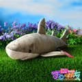 Simulation Great White Shark Plush Toys 55CM Sharks Stuffed Toys Dolls For Kids Birthday Gifts Free Shipping