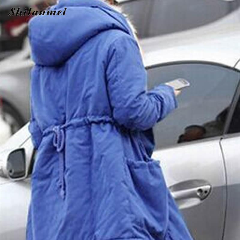 Chaud Fourrure red Femme blue Long Épais Parkas Blanc À Renard Black Vestes Casual Hiver De Capuchon Outwear Réglable Avec Femmes green Taille La Manteaux FWpZt