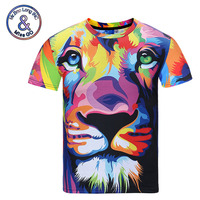 Mr 1991INC Miss GO Newly Design Summer 3d T Shirt Animals Brand Clothing