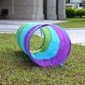 1.5 M Colorido Niños Plegables Tubo Túnel Juego Juguete Carpa Tiendas de Campaña Al Aire Libre de Interior Casa de Juegos para niños casa de juegos juguetes piscina de bolas piscina