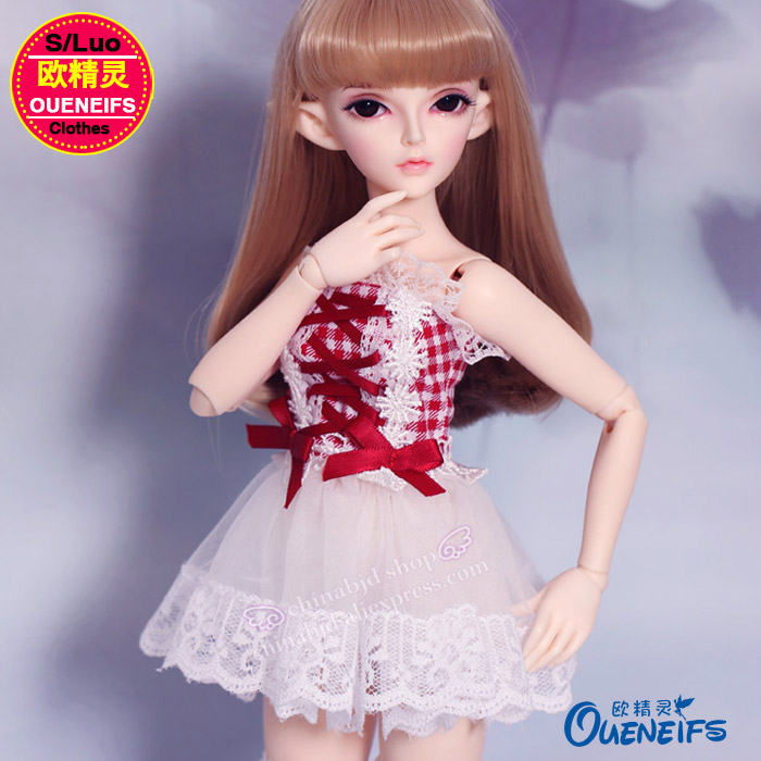 BJD Clothes  Free Shipping Long Skirt Sexy Clothes 1/4 Bjd Sd Doll Clothes, Customization Handwork,have Not Doll Or WigYF4-23