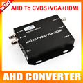 AHD Video Converter 720P/1080P Analog High Definition Camera Connector To HDMI/VGA/CVBS Signal,Support 250MA Output,25/30FPS