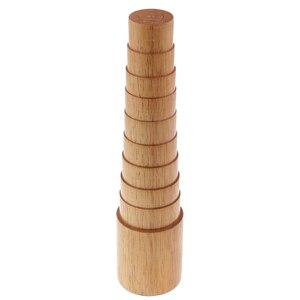 Image 1 - Étape en bois Bracelet mandrin Sizer ajuster jauge mesure Bracelet taille fil emballage outil bijoux faisant des outils