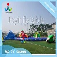 Открытый большой детская горка надувной для развлечений аквапарк с плавательный бассейн