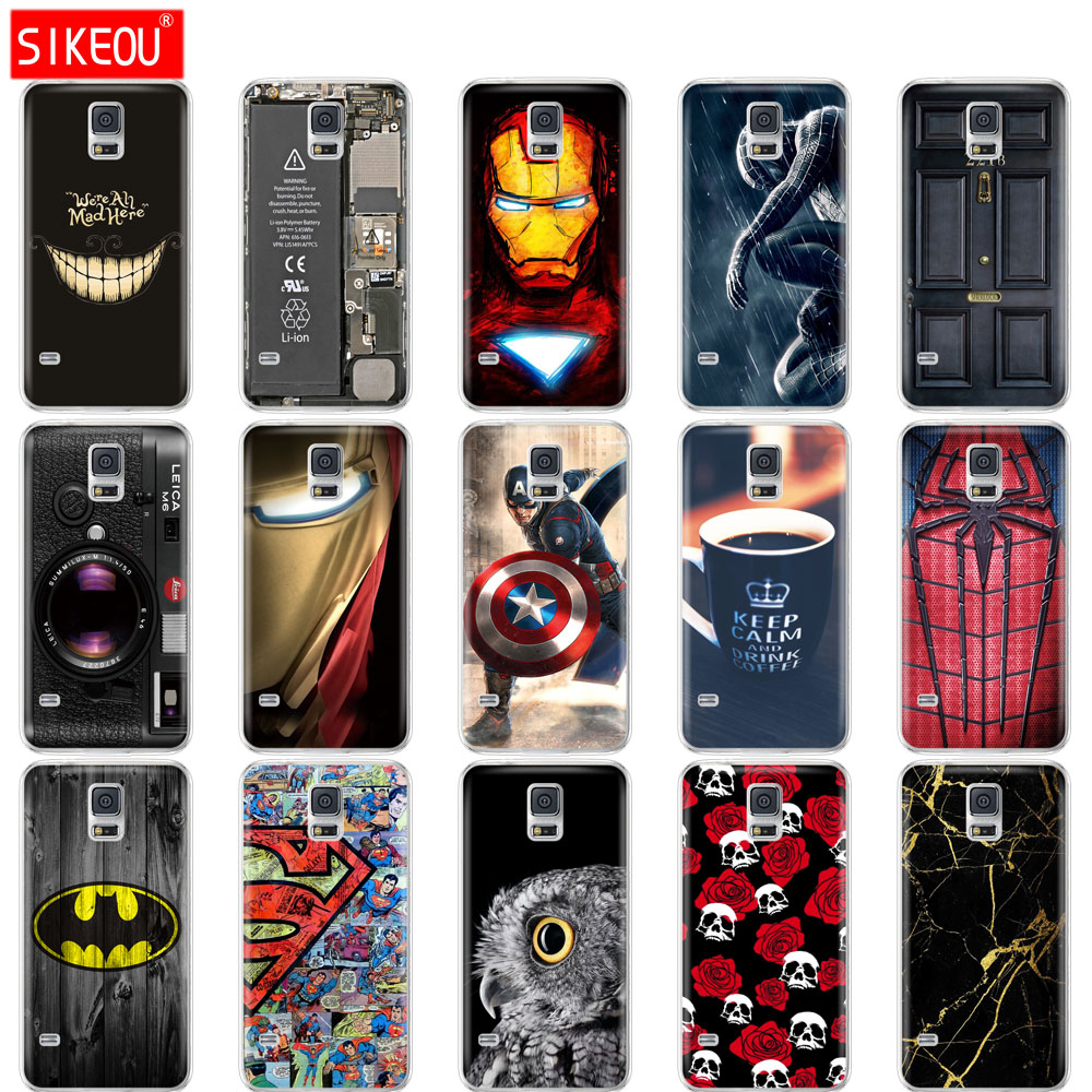 silicone case For Samsung Galaxy S7 egde case Cover for Samsung Galaxy S5 S6 edge Cover for Samsung S7 S6 G920F S5 i9600 coqa image