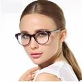 2016 Nuevas Mujeres de la Marca Capa Óptica Gafas de Marco Ojo de Gato TR 90 Gafas Anti-radiación antifatiga anteojos de la Computadora gafas