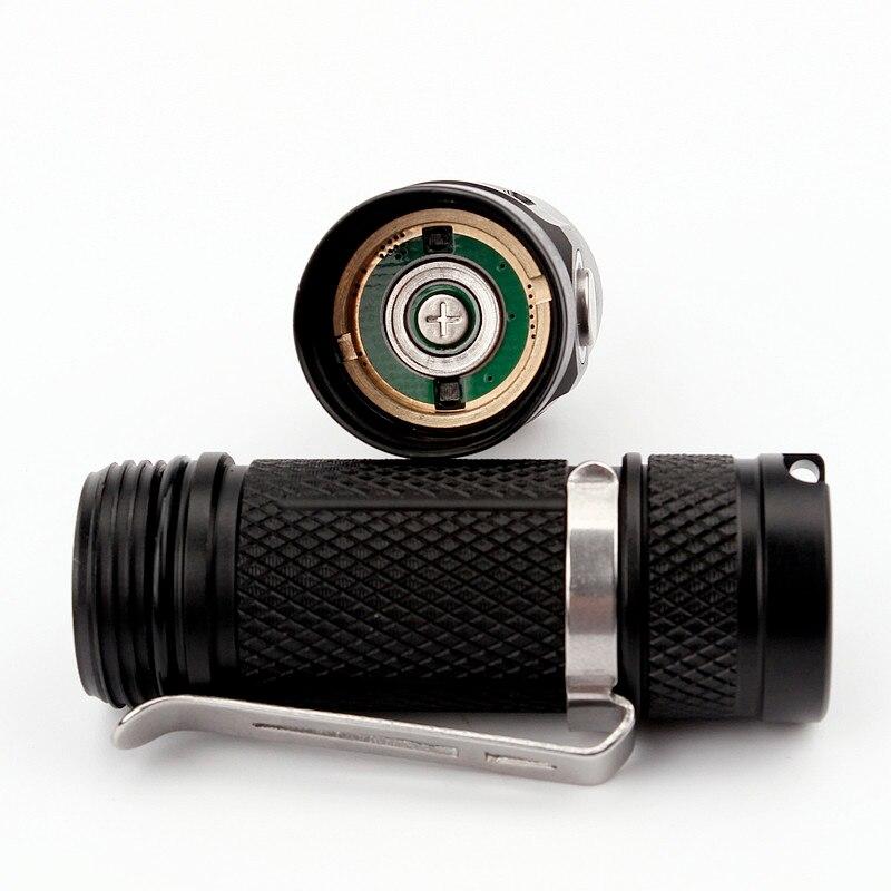 Image 5 - Sofirn Upgraded SP10S LED AA/14500 Flashlight LH351D 800lm IPX8 Mini Waterproof Tactical Torch CRI Keychain Emergency Light14500 torchmini led flashlightled flashlight aa -