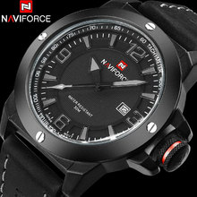 NAVIFORCE marca relojes hombres reloj de Cuarzo de Moda Casual reloj relogio masculino reloj hombre Militar Del Ejército Del Deporte a prueba de agua