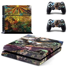 Vinyl Sticker PS4 Skin Decal Sticker For PlayStation4 Console and 2 controller skins – Monster Hunter World