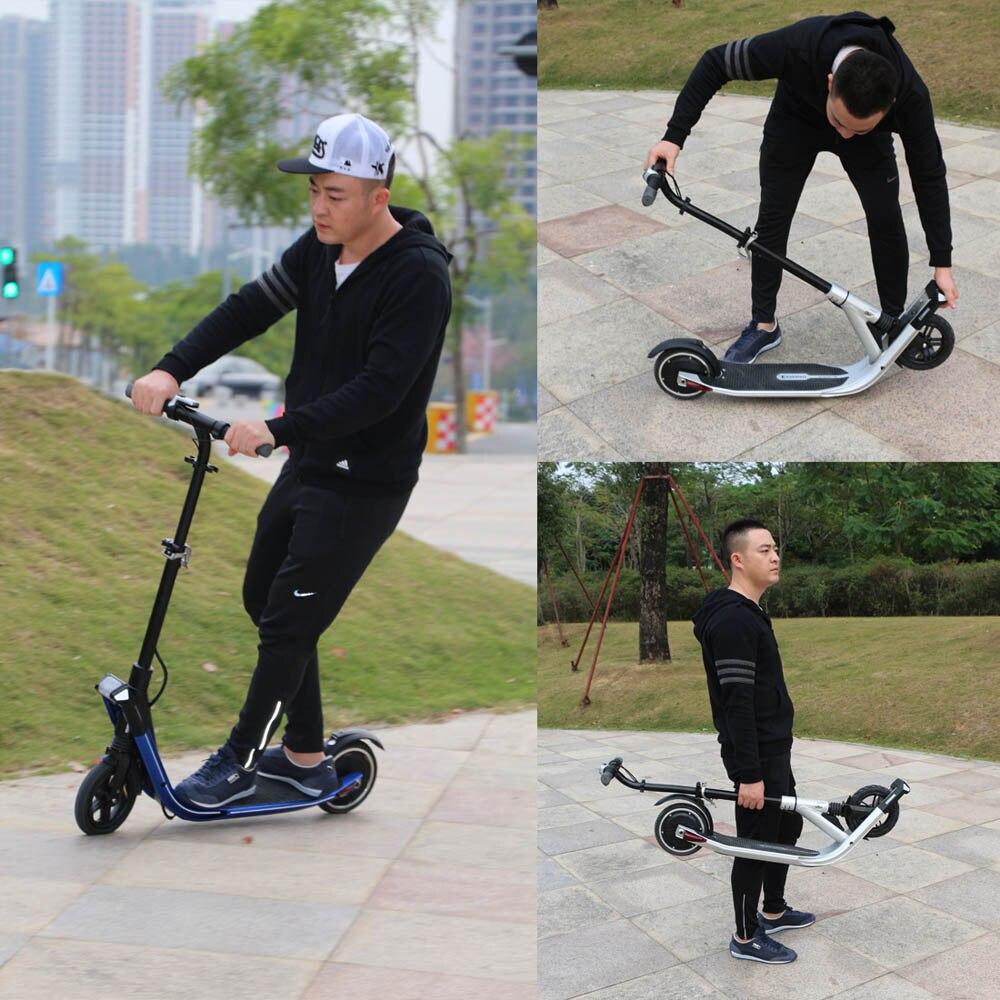 Sport & Unterhaltung Roller Original Klapp Tretroller Elektrische Kickscooter Bike Mit E-bremse Und Energie Recovery System Phantasie Farben
