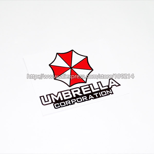 Hot sale Umbrella Corporation B Motorcycle SUV Auto Decal Sticker Waterproof M19