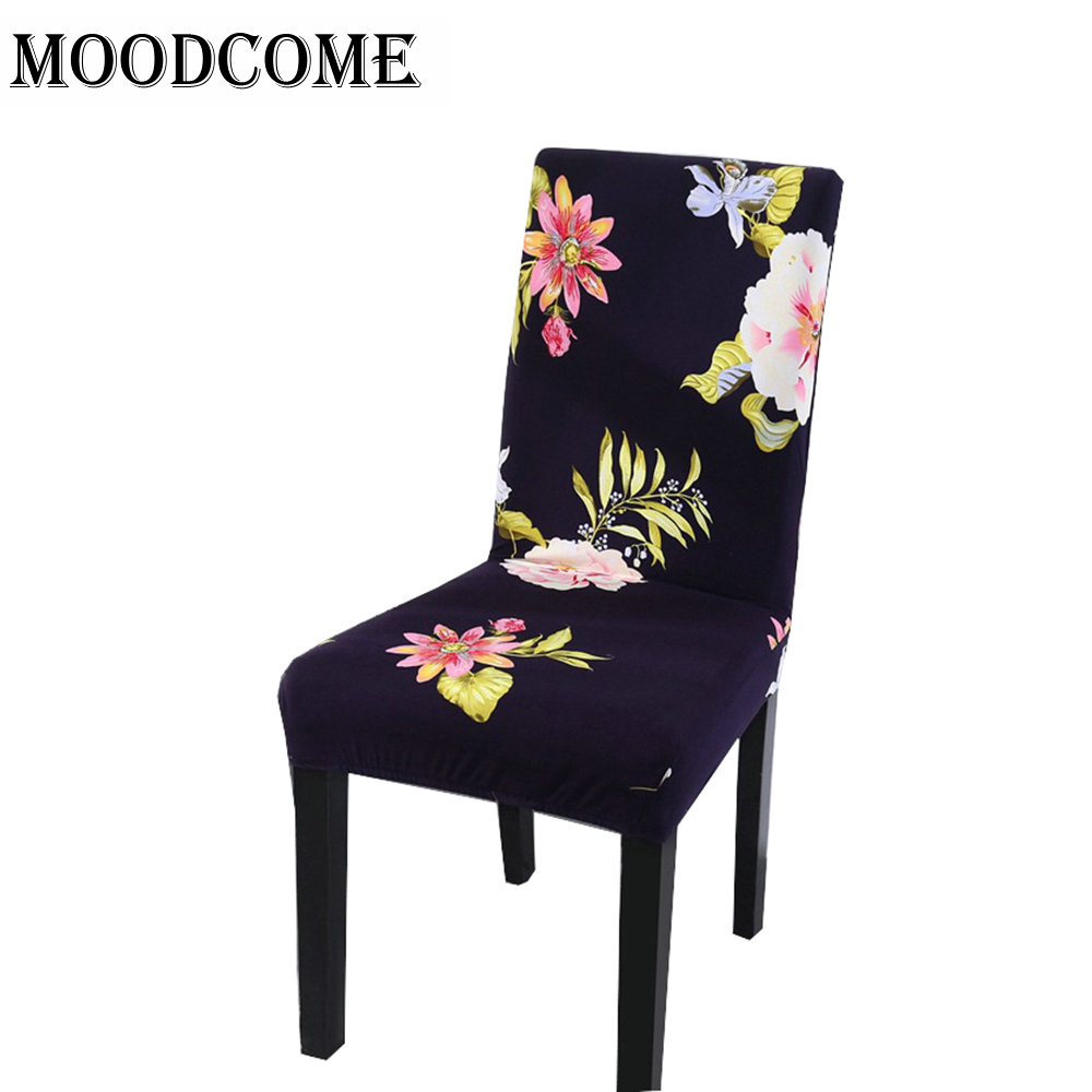 Kitchen Chair Cover Stretch 2018 New Arrival Stoel Hoezen