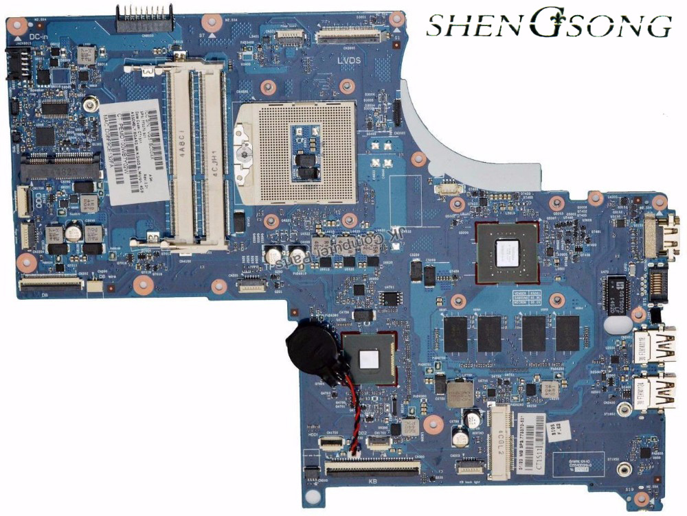 Free Shipping 773370-501 Motherboard 773370-001 FOR HP 17-J01 FOR ENVY17-J Motherboard HM87 100% tested working for hp laptop motherboard 6570b 686976 001 motherboard 100% tested 60 days warranty