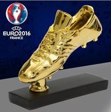 Football memorabilia European Cup best shooter Golden Boot trophy C Luomeixi gift football fans articles