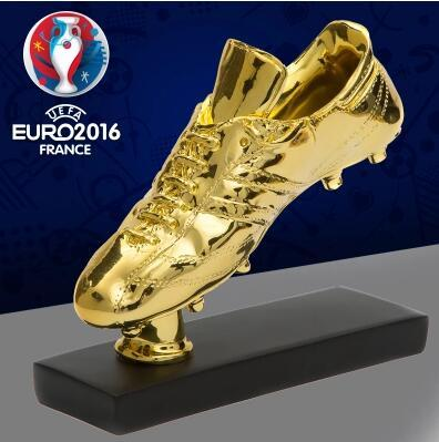 Football memorabilia European Cup best shooter Golden Boot trophy C Luomeixi gift football fans articles