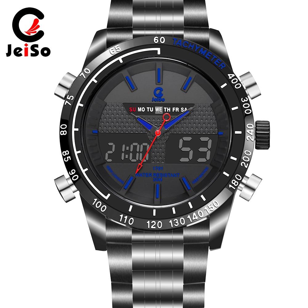 Sports Digital Watch Men With Japan Long Battery Quartz Movement Dual Display Watch цена и фото