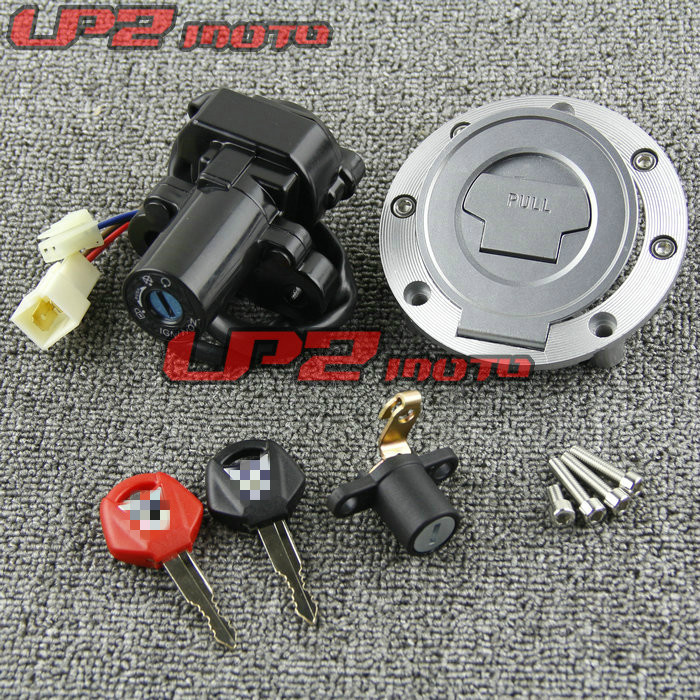 For YAMAHA FZ6R 2004 2016 FZ6 2004 2015 All Car Lock Ignition Switch Lock Key Gas Tank Cap Cover-in Locks & Latches from Automobiles & Motorcycles    1