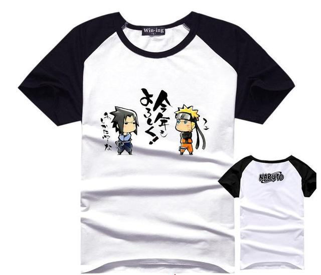 Boys Kawaii Japanese Anime Naruto Uzumaki T Shirt