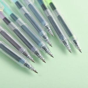 Image 4 - JIANWU 24 יח\סט 0.5mm creative מכתבים צבע ג ל עט יומן עט חמוד סירוס ספר עט dropshipping 2019