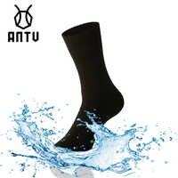 ANTU Wasserdicht Atmungsaktiv Bambus rayon Socken TRAIL-TROCKENEN Für Wandern Jagd Skifahren Angeln Nahtlose Außen Sport Unisex