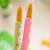 6 unids/lote kawaii galletas gel pluma papelería escuela material de oficina material escolar papelaria canetas bolígrafos