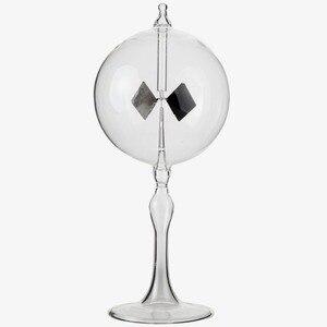 Image 4 - 20.5cm 4 bıçakları döner cam fırıldak güneş enerjili Crookes radyometre ışık değirmeni/eğitim öğretim çalışma aracı/ofis ev