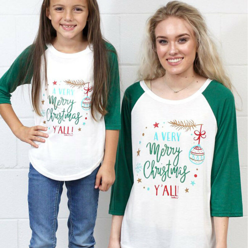Emmababy T-Shirt Patchwork Printed Kids Letter Brand Tee-Tops Women