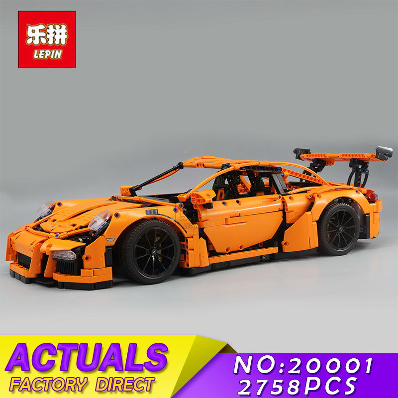 Lepin 20001 20001B 2704PCS Technic Series DIY Model Building Kits Blocks Bricks Compatible With 42056 Boy's Toy Educational Gift