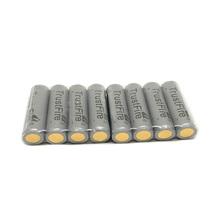 8pcs/lot TrustFire Protected 10440/AAA 600mAh 3.7V Lithium Rechargeable Battery with PCB Power Source for LED Flashlight