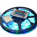 5M 2835 LED Strip Waterproof 60 LEDs/M DC 12V RGB Strip + 24 Key Controller + RGB Control Box