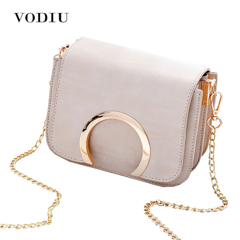 Women Bags Leather Tote Over Shoulder Sling Messenger Crossbody Chain Small 2017 Hot Sale Fashin Luxury Brand Female Handbags