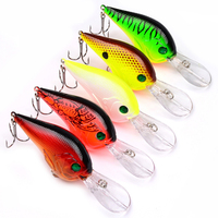 Fishing Lures 9.5CM/11G Fishing Bait Wobbler Pesca Minnow Bass Lure Crankbait Fishing Tackle Crankbait Artificial 100pcs/lot