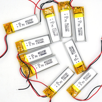 10PCS 3.7V 130 mAh 401030 Li Polymer Rechargeable Battery Li Po ion for GPS Bluetooth MP3 MP4 041030