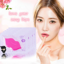 LISITA 10pcs Collagen Crystal lip mask lips plump personal care hydrating whitening wrinkles for a smacker free shipping