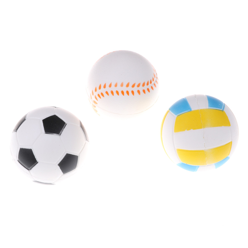 Anti Stress Ball Squishy Slow Rising Football9.5cm Pu Sponge Kids Funny Gadgets Surprise Bouncy Antistress Toy Phone Strap Easy To Lubricate Mobile Phone Accessories Cellphones & Telecommunications