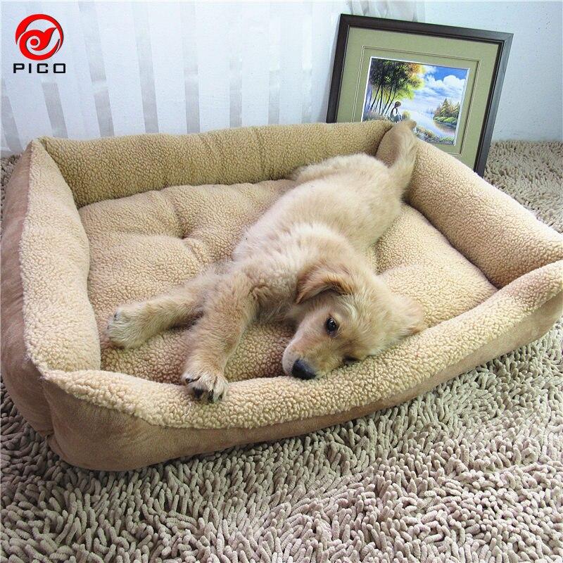 9070 cm grand race chien lit canap maison chiot nid petit chien chenil grande taille chien tapis pour animaux de compagnie chat fournitures zl155 2 - Canape Pour Chien Grande Taille