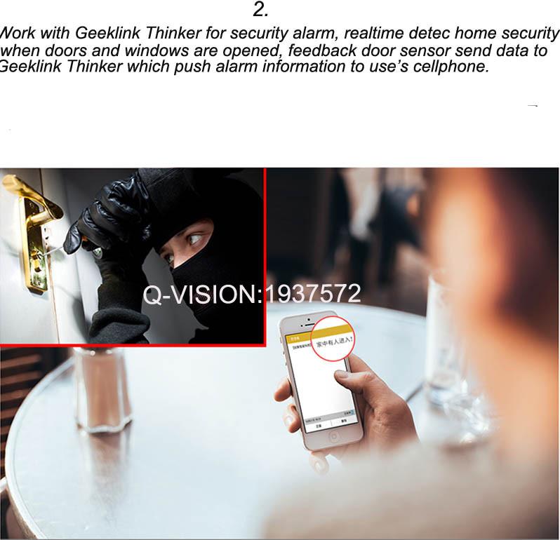 Geeklink Thinker+Two-way Feedback Door Sensor Smart Home Security  Automation Universal Controller Support 433315Mhz IR Wifi-8