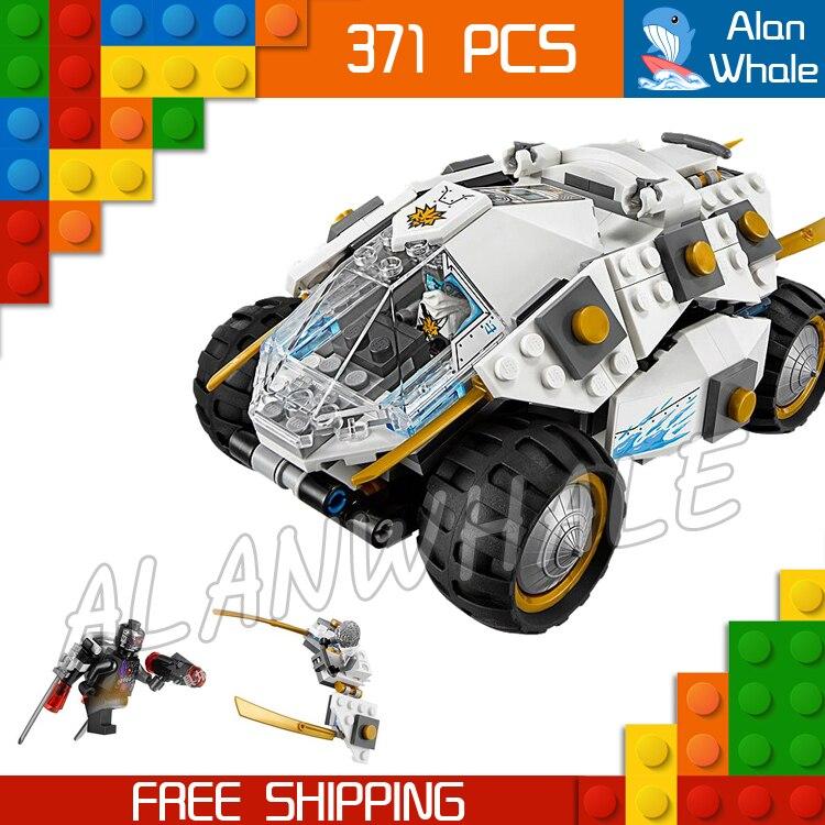 371pcs Bela 10523 Ninja Titanium Ninja Tumbler Building Blocks Bricks Boys Kids Toys Compatible With lego 8 in 1 military ship building blocks toys for boys