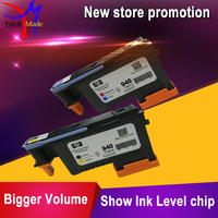 2PK BK Y C M For Hp940 Print Head For HP 940 Printhead C4900A C4901A For
