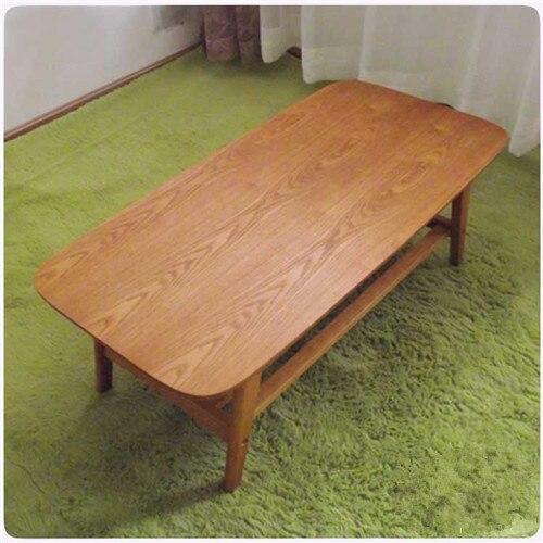 Modern Wood Table Solid Ash Natural Shelving Designs