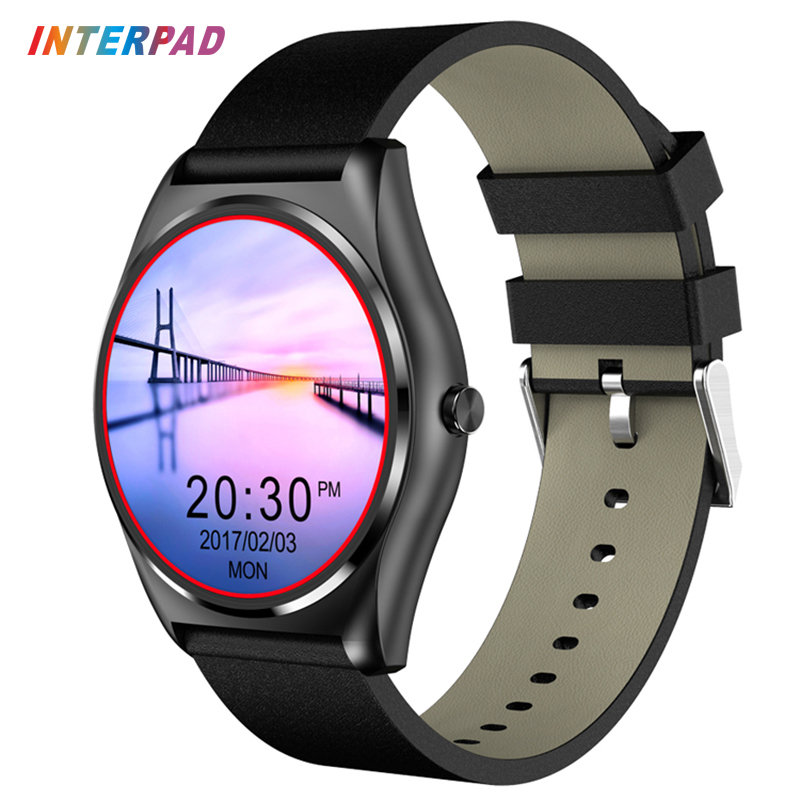 Interpad New N3A Bluetooth Smart Watch Support Heart Rate Monitor With Wireless Charging Smartwatch For IOS Android Phone PK G3 настольная лампа декоративная maytoni luciano arm587 11 r