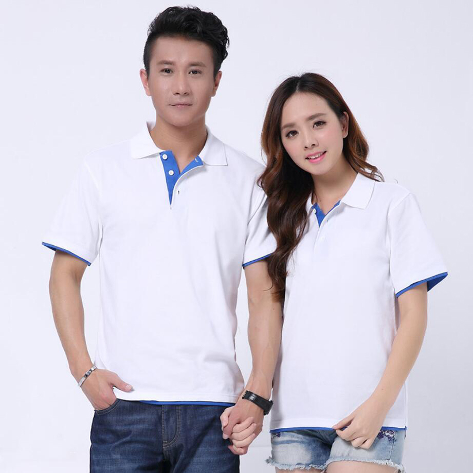 camisas polo soft mens shirt cotton top masculina homme brand men plain 180g summer tees for lovers