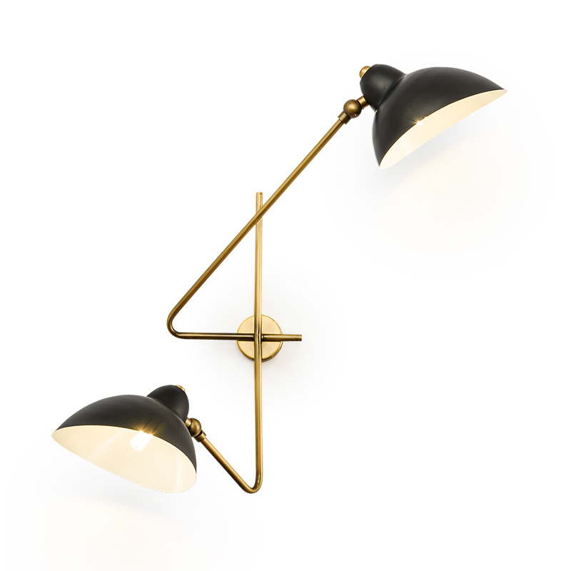Vintage Adjustable Industrial Metal E27 Wall Light Retro Country Style Sconce Wall Lamp for Loft Bar Cafe Home Corridor
