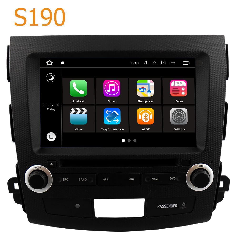 Road Top Winca S190 Android 7 1 System PX3 Car GPS DVD