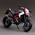 DMH Hypermotard SP motorcycle model 1:12 scale Alloy metal diecast models motor bike miniature race Toy For Gift Collection