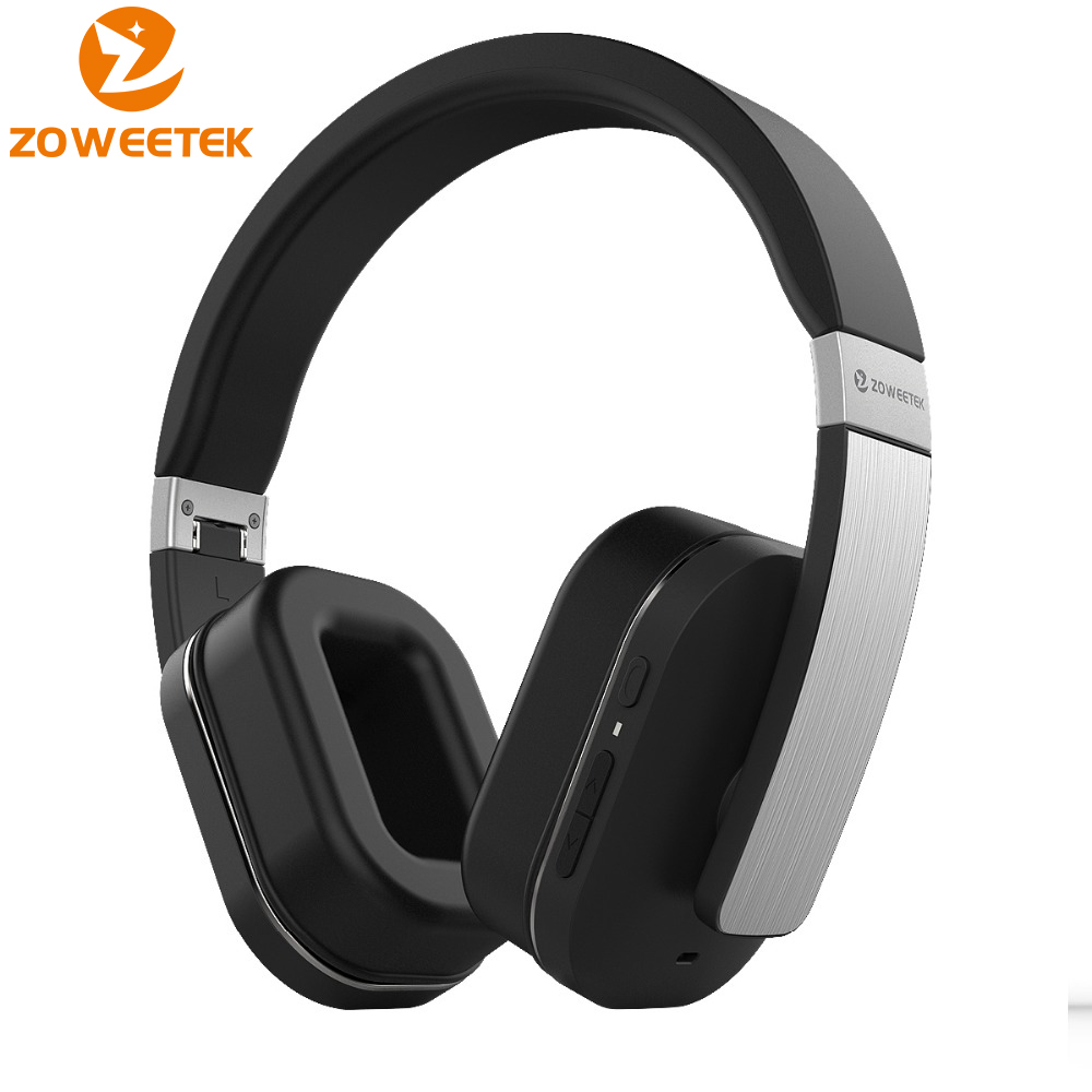 все цены на Zoweetek H01A Bluetooth Headphones Wireless Stereo Bass Headset Over-ear Headphone with Microphone For Xiaomi Huawei MP3 Music онлайн