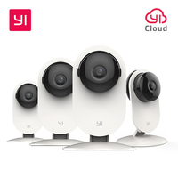 YI Home Camera 720P 4PC SET Wireless IP Cam Security Surveillance System Night Vision Indoor Baby