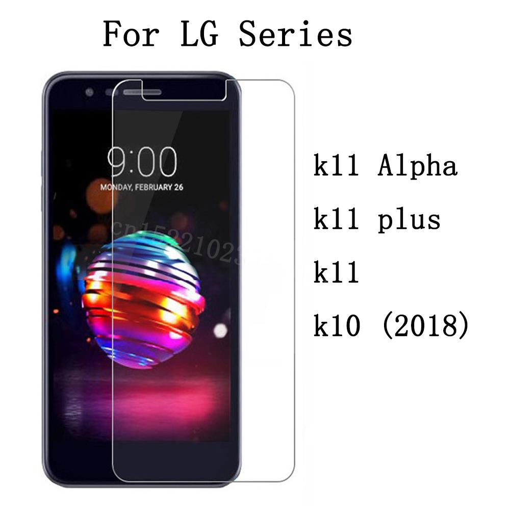 Premium Tempered Glass For <font><b>LG</b></font> <font><b>k11</b></font> Alpha <font><b>Screen</b></font> <font><b>Protector</b></font> Toughened protective film For <font><b>LG</b></font> <font><b>k11</b></font> plus k10 (2018) image